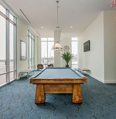 beacon harbor point in stamford game billiards room at blt live work play