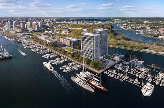 luxury apartments on the stamford waterfront
